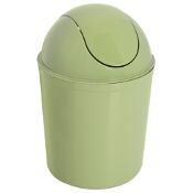 Kosz na śmieci Swing okrągły 5L zielony Plast Team