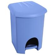 Kosz na śmieci z pedałem 6L niebieski Plast Team