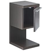 Szafka łazienkowa wisząca HALL z półką 27x56,5x33,5cm wenge A856434601 Roca