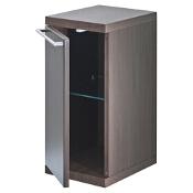 Szafka łazienkowa wisząca HALL dolna 27x56,5x33,5cm wenge A856437601 Roca