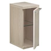 Szafka łazienkowa wisząca HALL dolna (płytka) 27x56,5x24cm dąb bielony A856440611 Roca