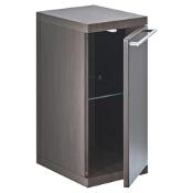 Szafka łazienkowa wisząca HALL dolna (płytka) 27x56,5x24cm wenge A856440601 Roca