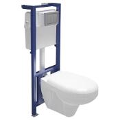 Stelaż do WC LINK z miską i deską duroplastową DELFI K97-102 Cersanit