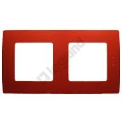 Ramka Niloe Eco podwójna czerwony Legrand