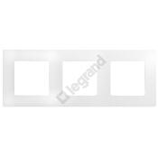 Ramka Niloe Eco potrójna biały 665003 Legrand