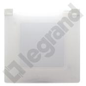 Ramka Niloe Eco pojedyncza IP44 biały Legrand