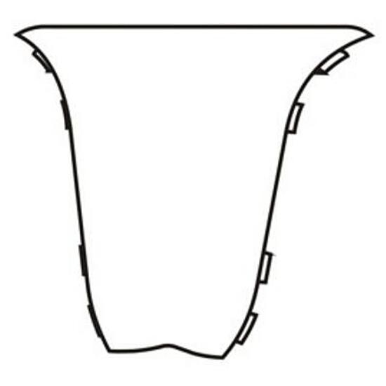 Narożnik wewnętrzny 44 dąb G3 (2szt) A-4NWE1-G3-000 Prexa
