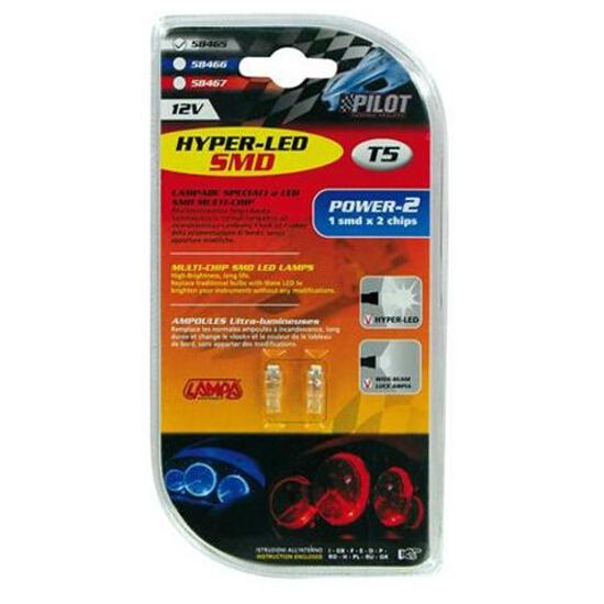 Żarówka HYPER-MICRO-LED do oświetlania wnętrza auta T5 1xSMD biały 58465 Pilot