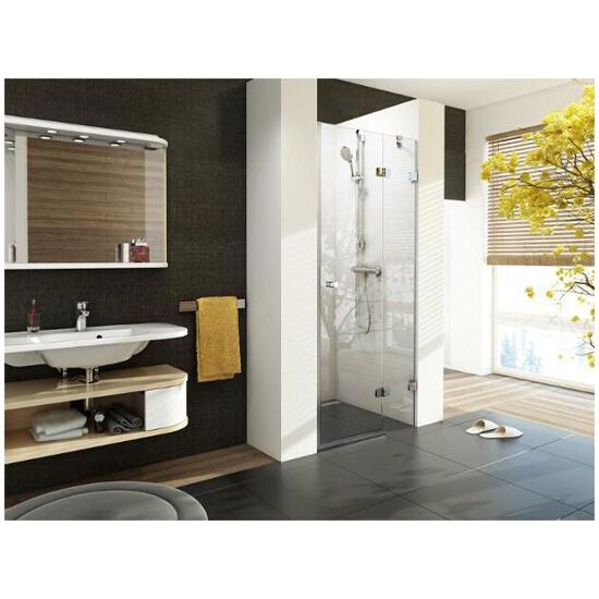 Drzwi prysznicowe BRILLIANT 80 BSD2-80 A-P 0UP4AA00Z1 Ravak