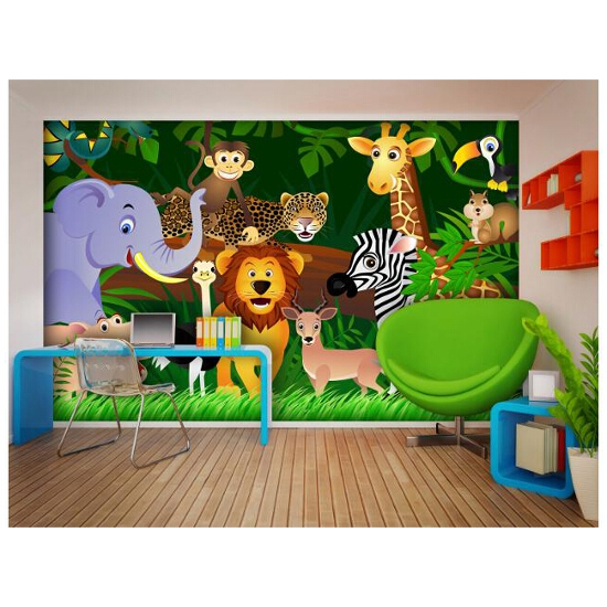 Fototapeta FTS 1307 Jungle 364x254cm Ergis