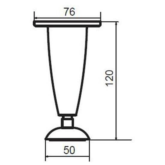 Nóżka meblowa Madea komplet 4szt. S599-0023