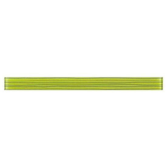 Płytka ścienna Linero zielone glass 29x5