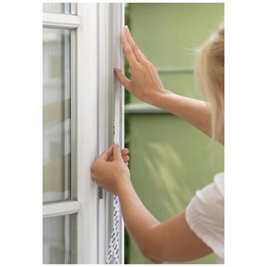 Moskitiera drzwiowa przeciw owadom Comfort 1,2x2,5m biała Tesa Tape