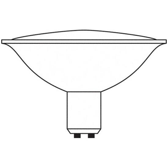 Żarówka halogenowa Halospot 48 50W 24° BA15d 41990FL Osram
