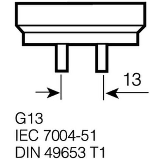 Świetlówka liniowa T8 Lumilux 18W/954 G13 Osram