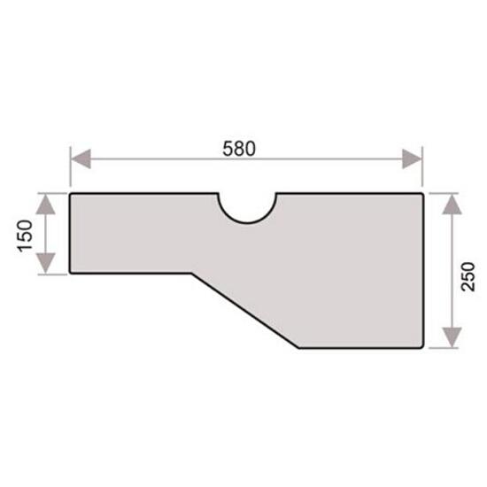 Schody modułowe proste Florencja Radex