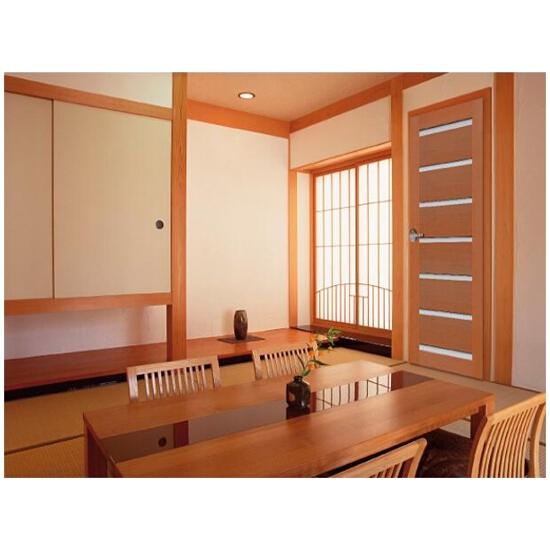 Drzwi sosnowe Tokyo przeszklone (7 szyb) 80 lewe Radex
