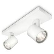 Lampa sufitowa RUNNER 2xGU10 53092/31/16 Philips
