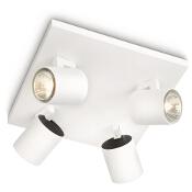 Lampa sufitowa RUNNER 4xGU10 53094/31/16 Philips