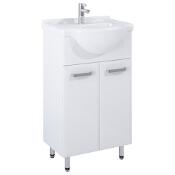Szafka z umywalką w zestawie AMIGO 55 165410 Elita