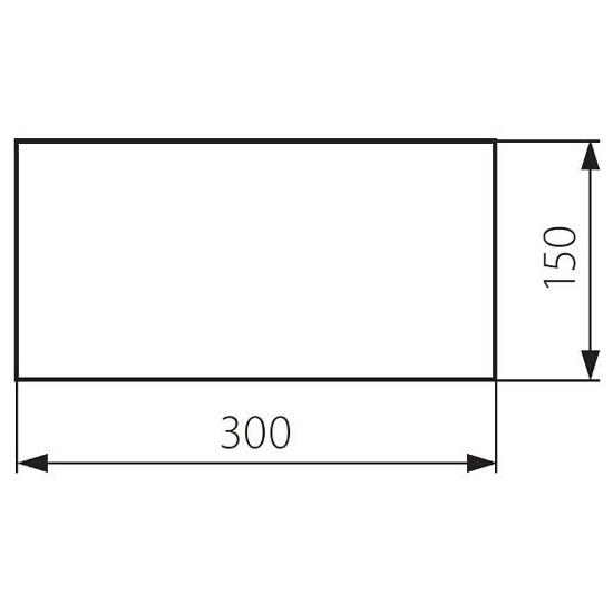Znak ewakuacyjny EXIT PICTO-STEP1 roz. 300x150 Kanlux