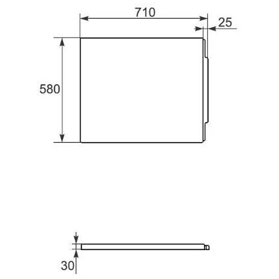 Obudowa do wanny MALMO 180 panel boczny OS-401-004