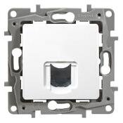 Gniazdo telefoniczne modułowe Niloe Eco 1XRJ11 biały 664569 Legrand