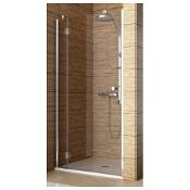 Drzwi prysznicowe SOL DE LUXE 80 wnękowe lewe 103-06062 Aquaform