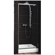 Drzwi prysznicowe NIGRA 80 wnękowe 103-091111 Aquaform