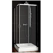 Kabina prysznicowa kwadratowa NIGRA 80 101-091111 Aquaform