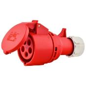 Gniazdo przenośne Twist IP44 16A 400V 3P+Z+N PCE