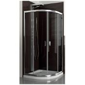 Kabina prysznicowa półokrągła LAZURO 90 100-06565 Aquaform