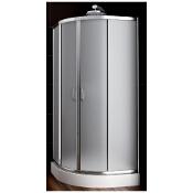 Kabina prysznicowa półokrągła NIGRA 90 100-092112 Aquaform