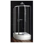 Kabina prysznicowa półokrągła NIGRA 90 100-092121 Aquaform