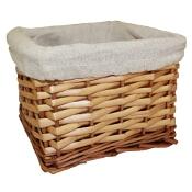 Koszyk wiklinowy średni naturalny Sepio