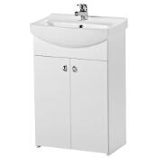 Szafka BIANCO w zestawie z umywalką CERSANIA NEW 55 S509-040-DSM Cersanit