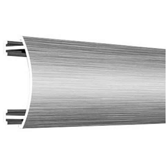 Listwa dekoracyjna wypukła 25x8,5mm ALU srebrny A0 dł. 2,5m F-ADWA1-A0-250 Morino