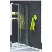 Drzwi prysznicowe GEO 6 100 rozsuwane szkło przezroczyste GDRS10222003 Koło