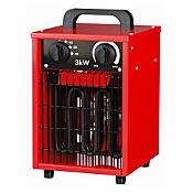 Nagrzewnica elektryczna IFH0130CR max 3000W czerwona Sanico