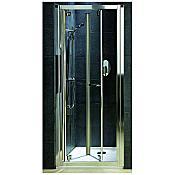 Drzwi prysznicowe GEO 6 Bifold 90 szkło przezroczyste GDRB90222003 Koło